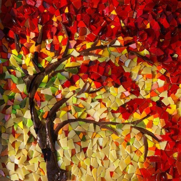 wow! mosaic tree