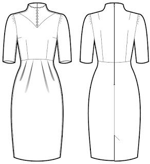 SuzySewing: Antoinette Dress Pattern Release