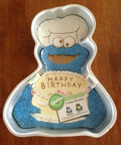 Cookie Monster Wilton Cake Pans