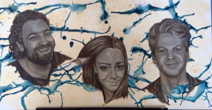 Frank, Leonie en Matthijs