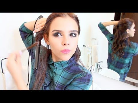 PEINADOS DE ARIANA GRANDE FABCUORE - YouTube