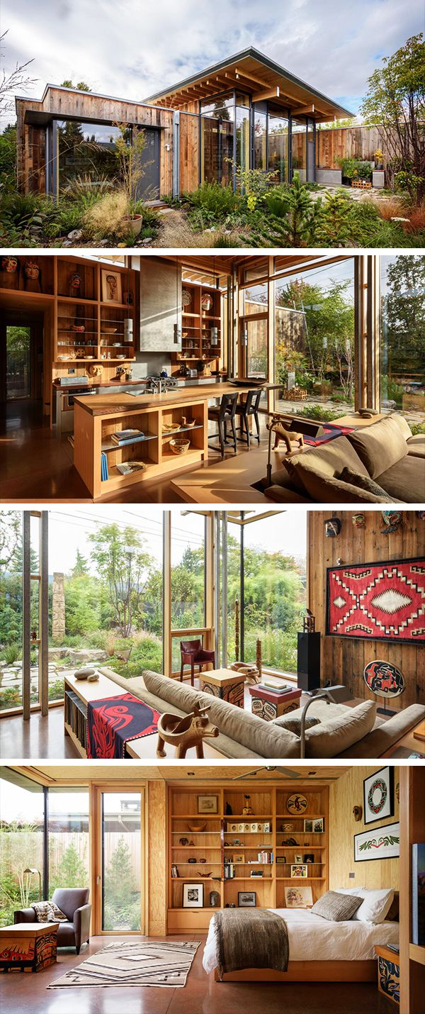 City Cabin By Olson Kundig In Seattle Washington Seattle Architecture Washington Houses Cabin