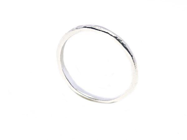 Hammered ring silver - HeidisHoff.no