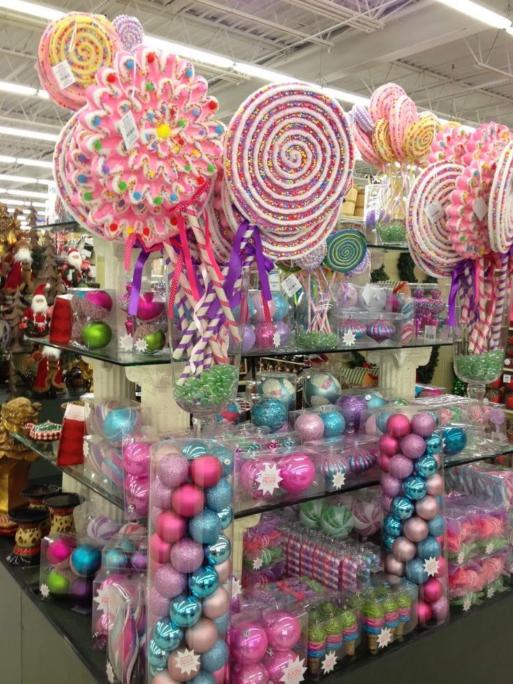 Viral 2019 11 07 Hq Pictures Candy Christmas Decorations Viral Hobby Lobby Candy Christmas Decorations Pink Christmas Decorations Candy Christmas Tree