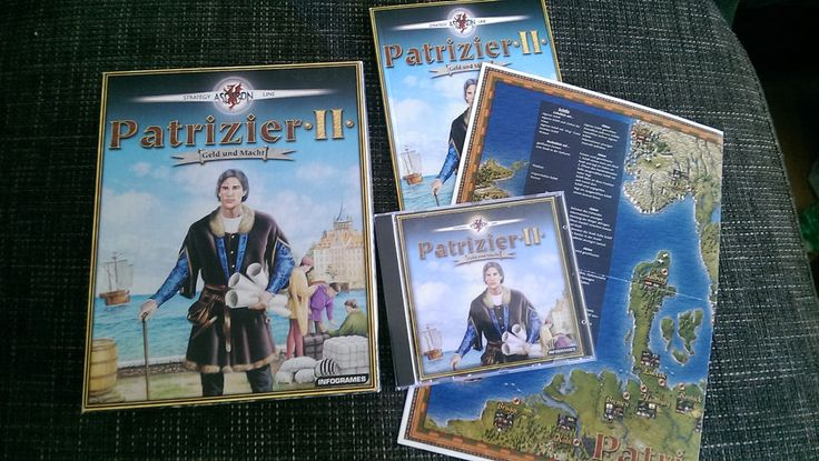 PC-Spiel Patrizier II