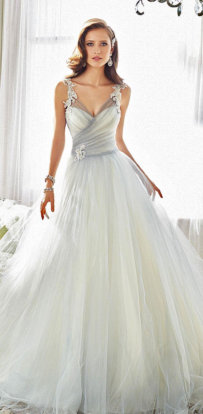 Best 25 sophia tolli wedding gowns ideas on pinterest for Sophia tulle wedding dress