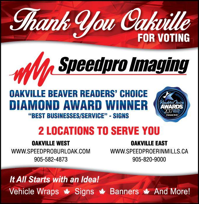 Congrats Speedpro Oakville on your Diamond Award win!