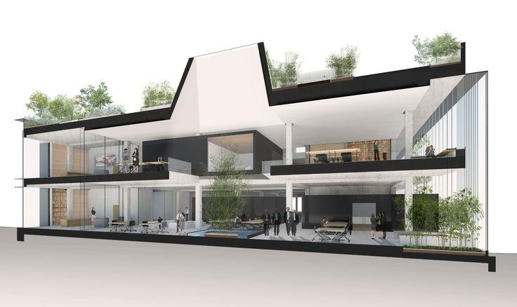 Hua Song Company HQ || Genton Architecture