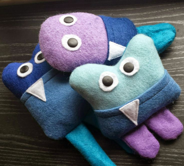Loopeeeee: Tooth Monsters - $10 Put beside your child's pillow so the tooth fairy can find the tooth easily