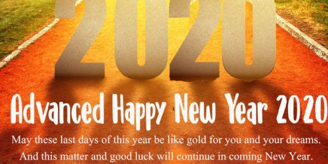 Creative 100 Happy New Year Status 2020 For Whatsapp Facebook