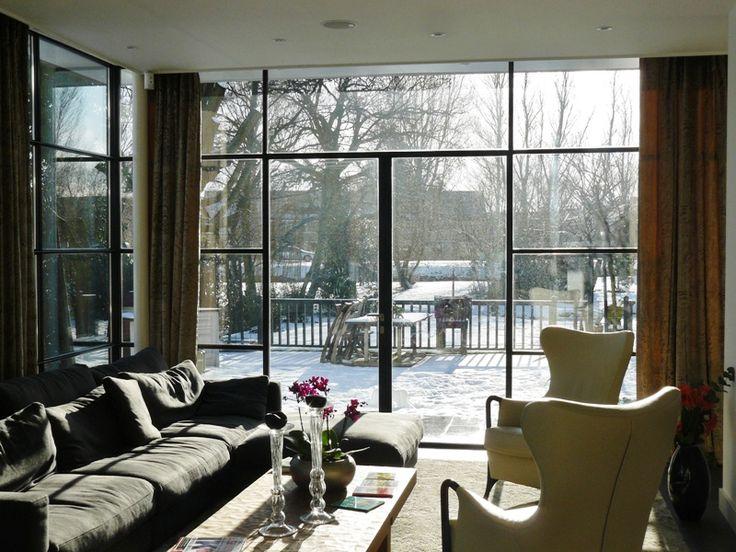 Stalen buitendeuren Perfect View / MHB.