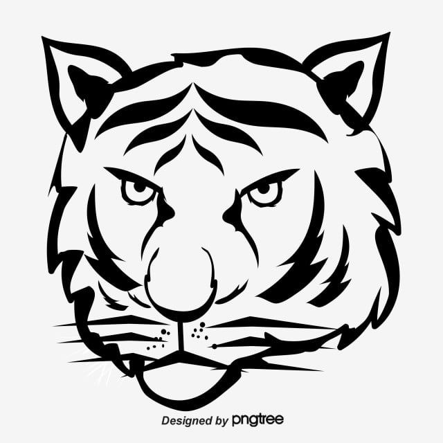 Cartoon Animal Tiger Hand Painted Elements Element Ferocious Animal Png Transparent Clipart Image And Psd File For Free Download Cartoon Animals Black Aesthetic Wallpaper Cartoon Tiger