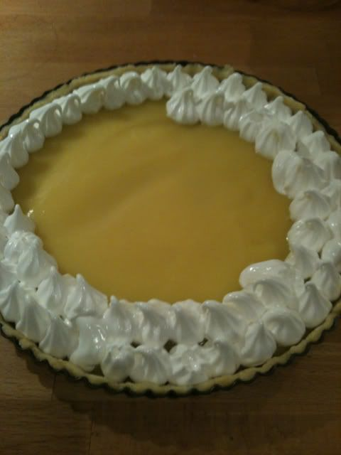Lemon Marengue Pie - med ekstra snydetricks!
