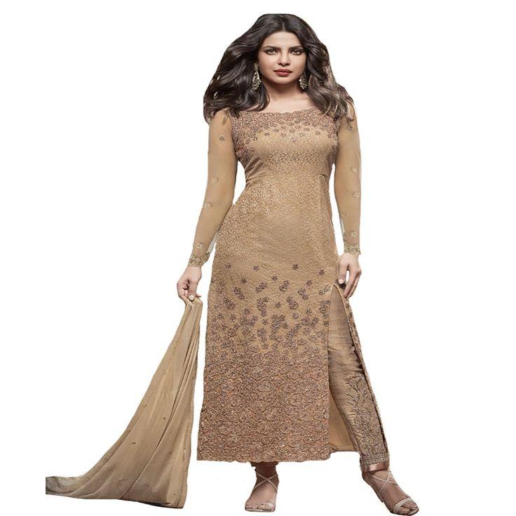 Priyanka Chopra Collection Straight Salwar Kameez Ceremony wedding Bridal Muslim Eid 8827