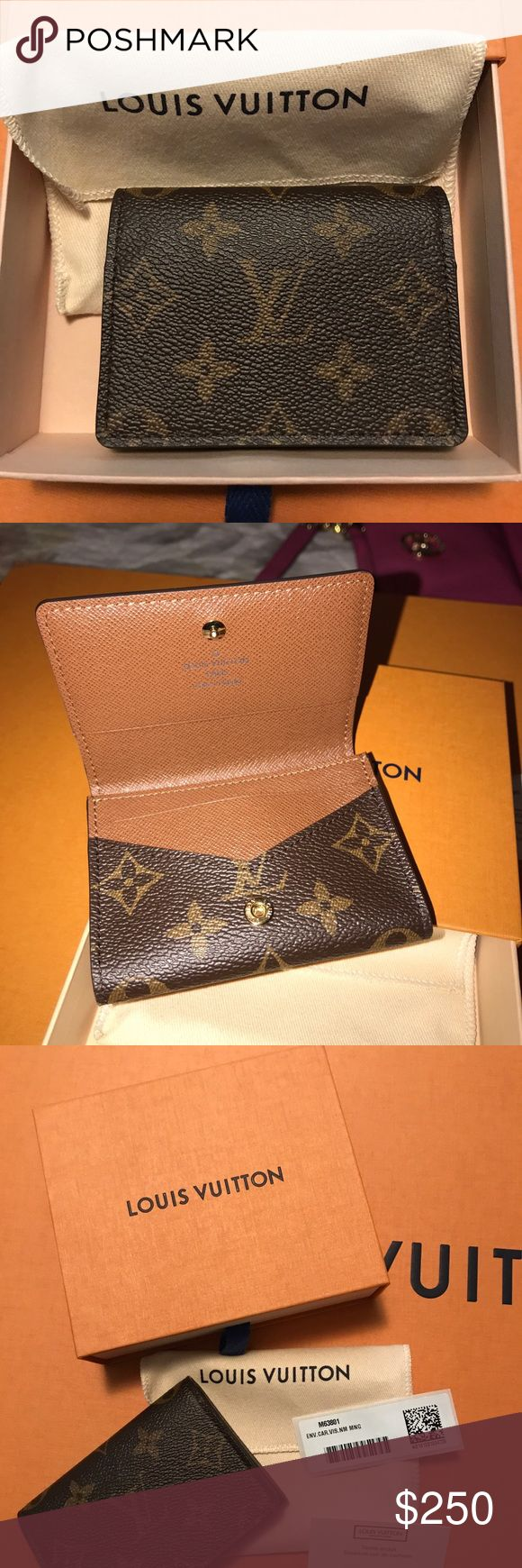 LV coin/card holder Original Louis Vuitton monogram coin/Card holder, brand new with tags in box. NO low bids, price is firm! Louis Vuitton Bags Wallets