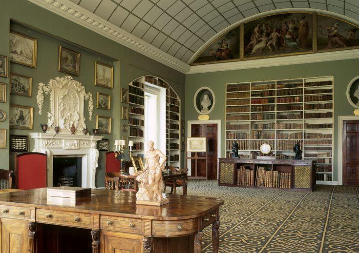 VEN HOUSE | bensozia: English Country House Libraries