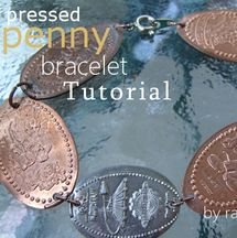 Learn how to make a pressed penny bracelet with this penny bracelet tutorial from your DIY Fashion Expert, Rain Blanken.