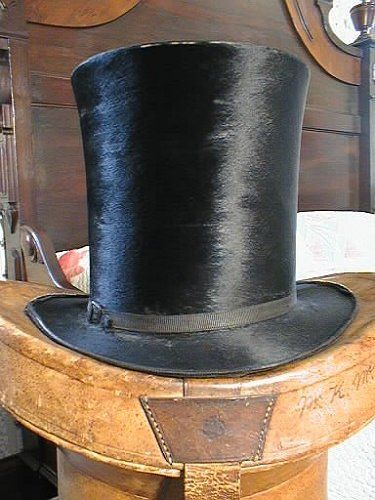 The very first top hat was worn by John Hetherington, a London haberdasher. He was fined £50 the first time he wore his new creation, for causing a disturbance