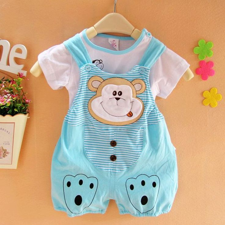 Monkey Face Newborn Clothes For Boys - http://www.ikuzobaby.com/monkey-face-newborn-clothes-for-boys/