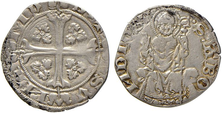 NumisBids: Nomisma Spa Auction 51, Lot 1309 : COMO Azzone Visconti (1335-1339) Grosso da 24 imperiali – Biaggi...