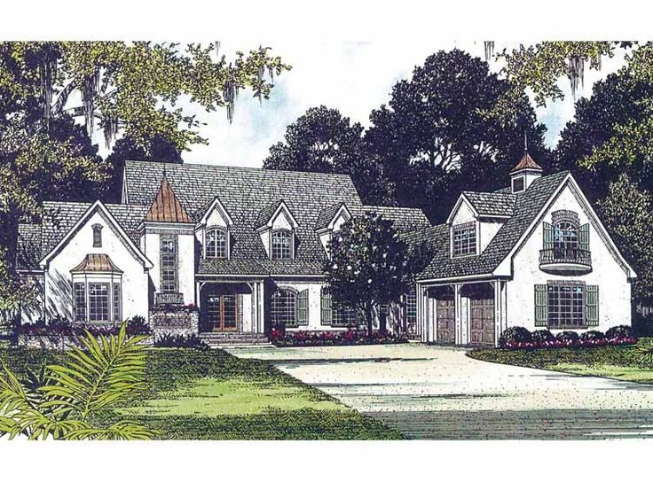 Eplans french country house plan charming european for European cottage house plans