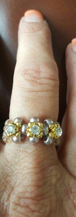 Zelfgemaakte ring