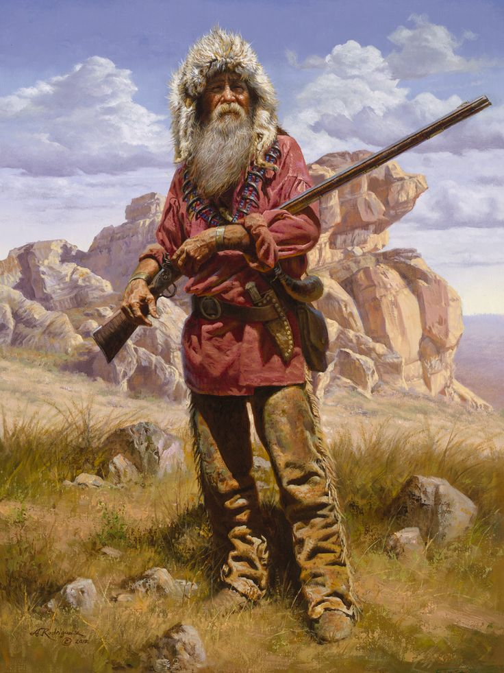 Mountain Men and Fur Trappers | Mountain Man