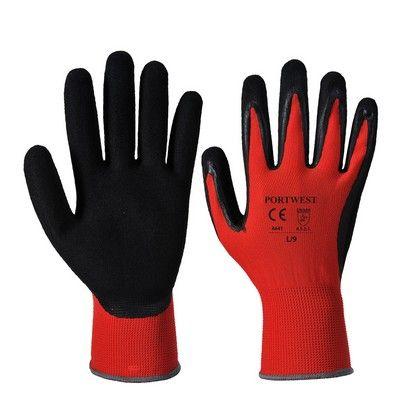 Guante anti-corte Nivel 1 Rojo/Negro