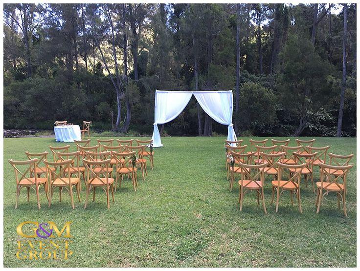 O'Reillys Canungra Valley Vineyards Wedding Ceremony    Country Wedding DJ Brian Davis #weddingentertainment #countrywedding #ceremonymusic #vineyardwedding #weddingdj