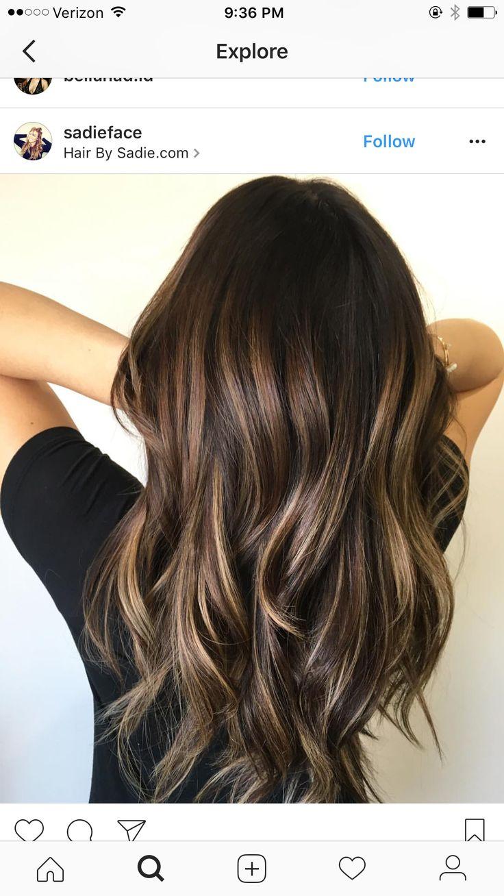 Best 25+ Brown hair balayage ideas on Pinterest   Dark ...