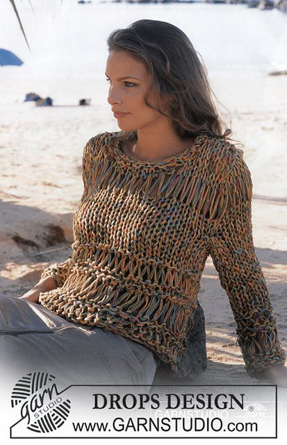 Ravelry: 82-13 Pullover pattern by DROPS design