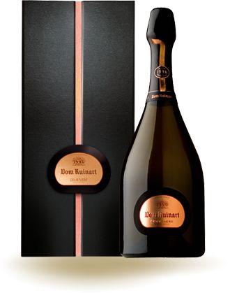 Champagne !  Fondée en 1729, la maison Ruinart est la plus ancienne maison champenoise en activité. Ici le R de Ruinart rosé.