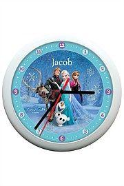 Disney Frozen Licensed Clock - Blue