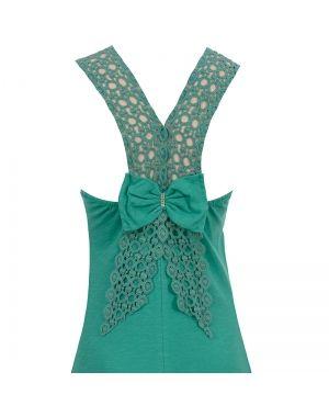 Φόρεμα μακρύ σε πράσινο χρώμα.