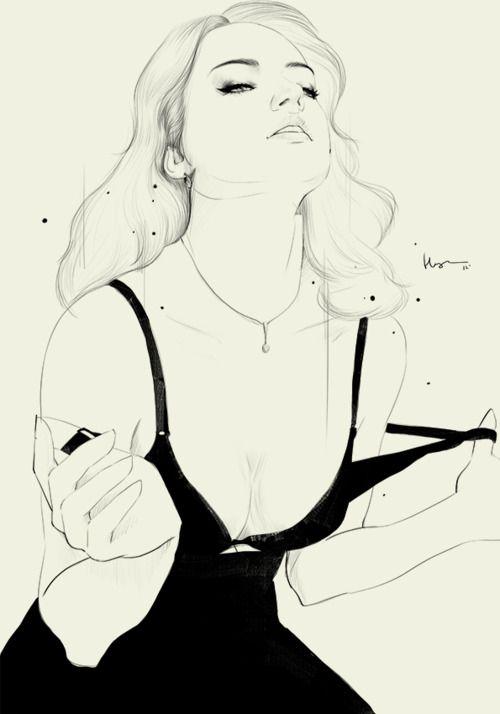 fashion illustration, Floyd Grey