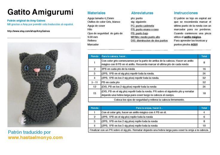 Amigurumi gatitos