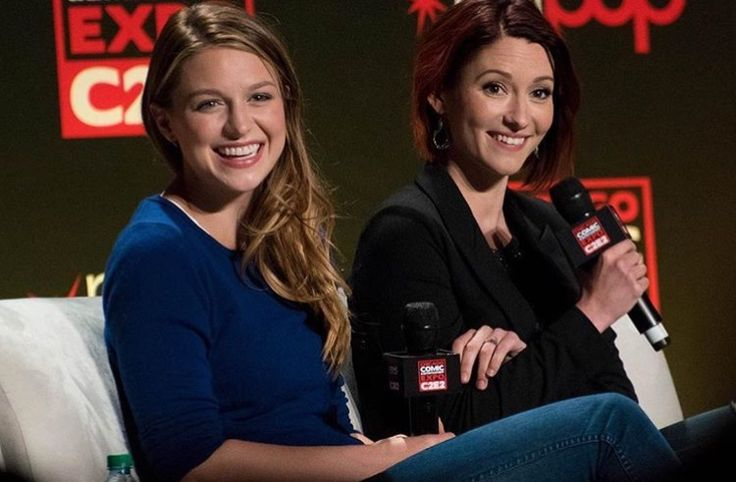 Mel and Chyler! This was their first comic con interview!