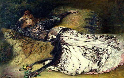 Georges Clairin, Sarah Bernhardt, 1871