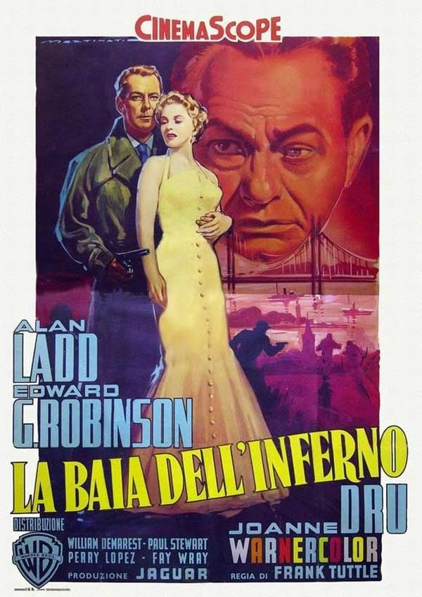 More Ladd! Hell on Frisco Bay. Never saw this, but great poster.
