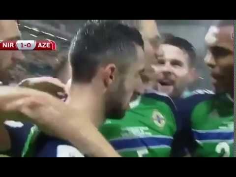 Kuzey İrlanda - Azerbaycan 4-0 Özet ve Goller 11 Kasım 2016 Dünya Kupası...