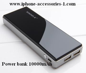 When you go to travel, vacation, the phone suddenly out of power, looking for a battery, but found that they are not different models, how the helpless you feel. At this time, if you owns one rechargeable power pack, all problems will be solved. For More Information Visit:- http://www.iphone-accessories-1.com/power-bank-10000mah.html