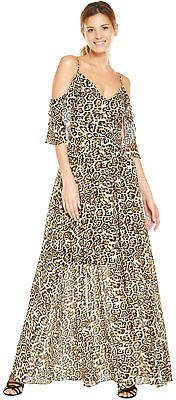 Cold shoulder Leopard Print Sleeveless Maxi dress  Animal print long dress  #affiliate