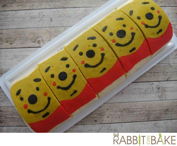 Winnie the Pooh swiss roll