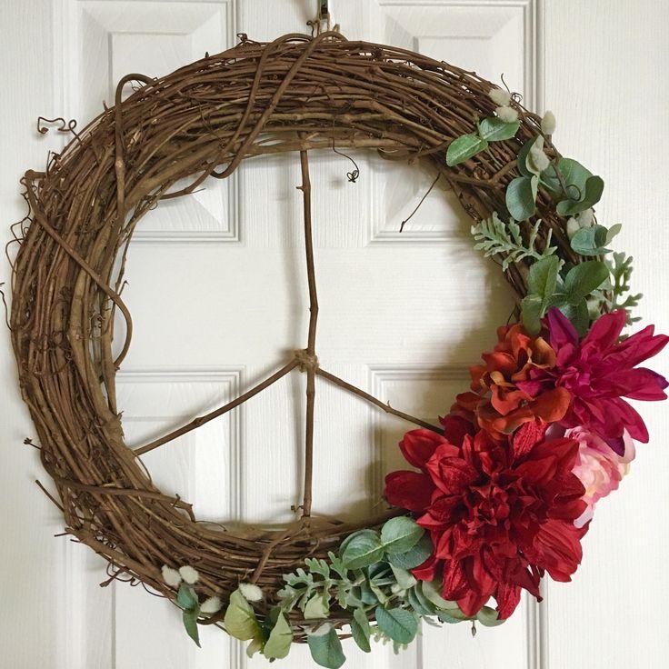 Best 25 Modern Wreath Ideas On Pinterest Floral Wreath