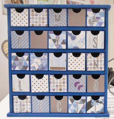 BTP Medium Drawers - Kaisercraft Off The Wall collection ~Karyn Watton