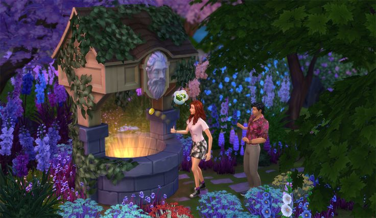 New Wishing Well Added By The 'Romantic Garden Stuff' Pack Adds Powerful, Random Outcomes To 'The Sims 4'