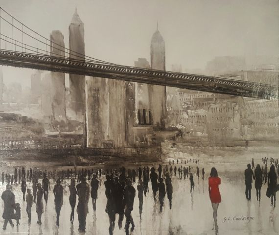 Rainy Day in Brooklyn - Graham Colthorpe