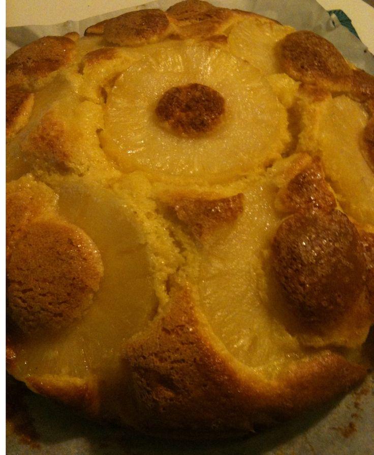 ananas, torta, torta ananas