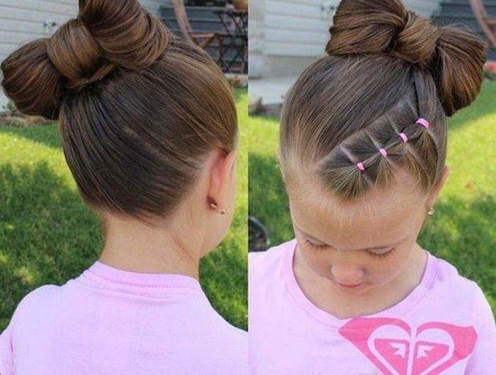 cheveux-arrangers-en-noeud-idee-tres-creative-pour-votre-fille-coiffure-petite-fille-originale