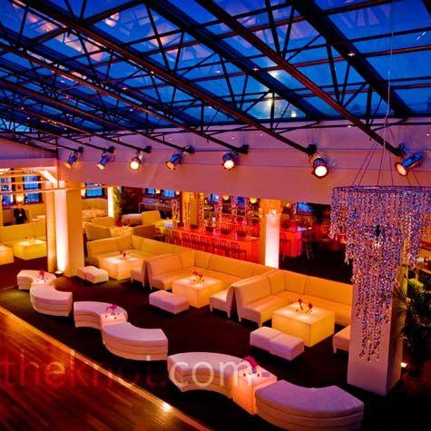 White Reception Lounge